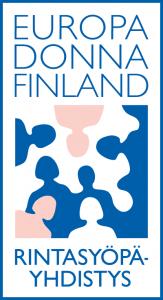 Rintasyöpäyhdistys-Europa Donna logo