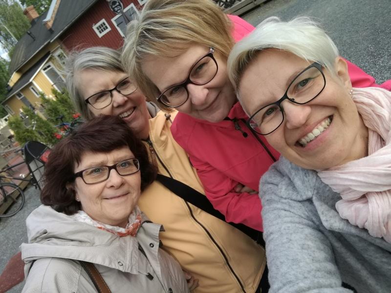 Minna, Eila, Jaana, Riitta