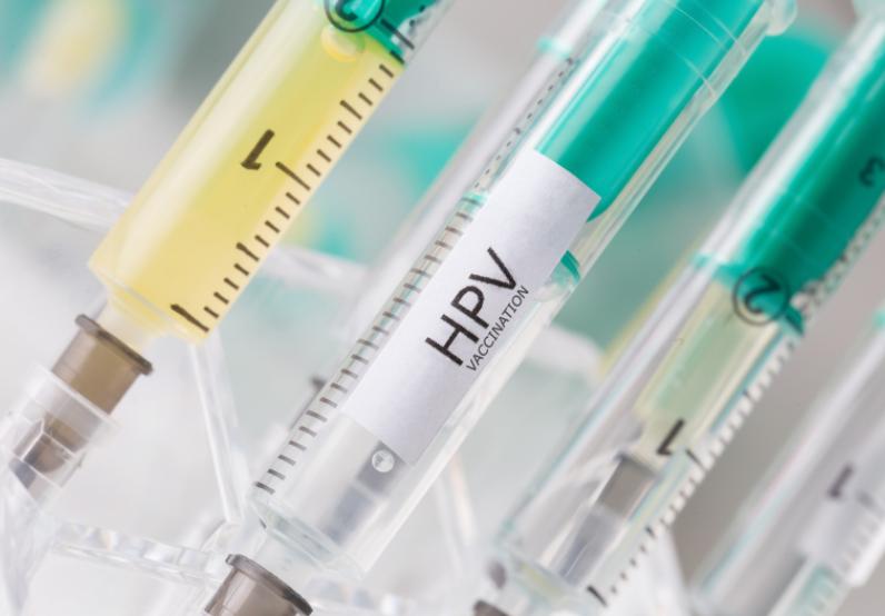 Sprutor med HPV-vaccin