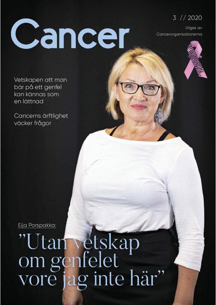 Syöpälehden kansikuva