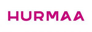 Logo, jossa teksti Hurmaa.