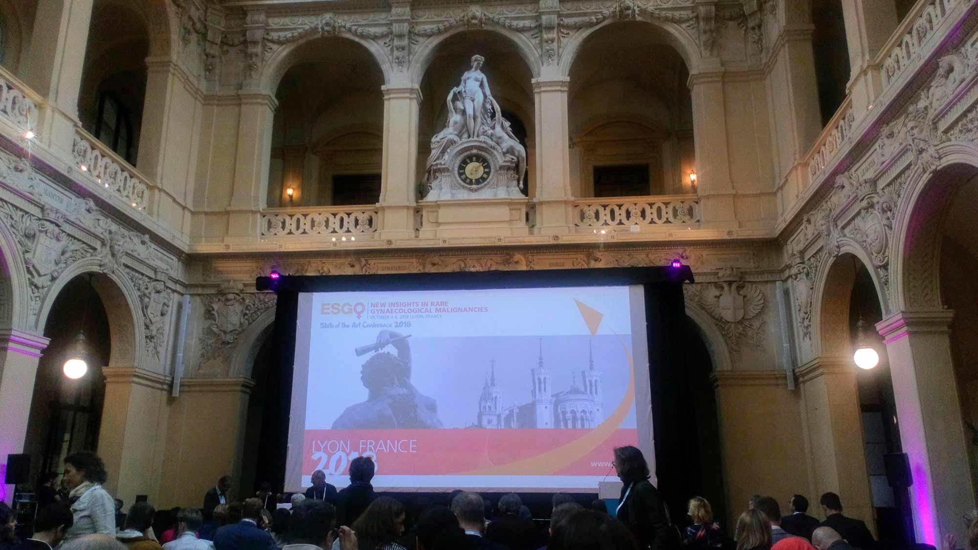 ESGO & ENGAGe konferenssi Ranskan Lyonissa 2018