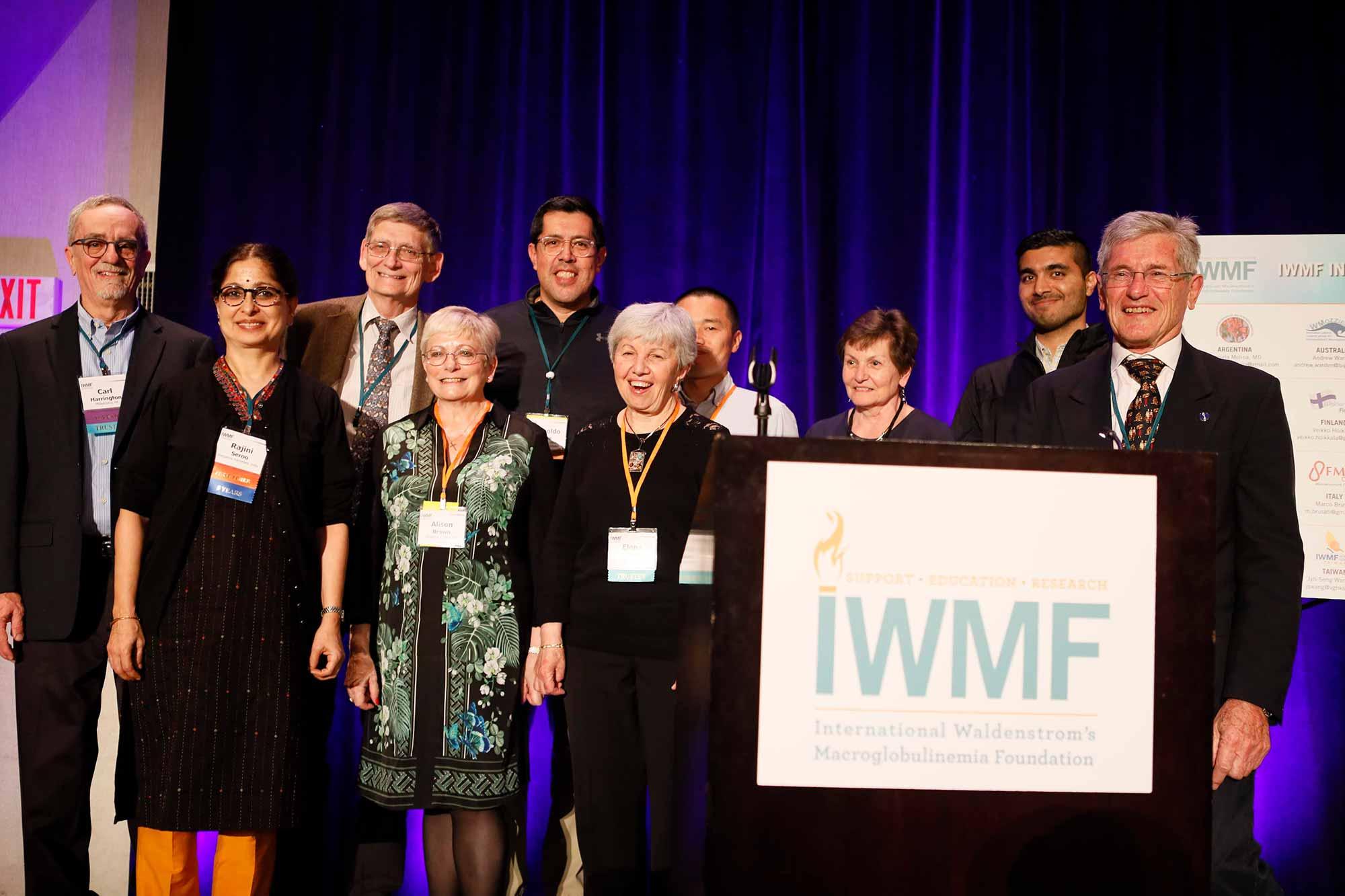 IWMF:n jäseniä ja luottamushenkilöitä