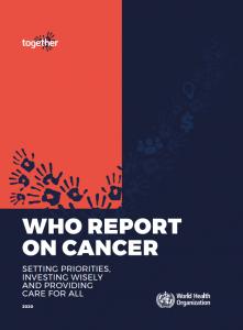 WHO syöpäraportin kansikuva
