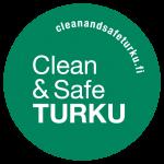 Clean and Safe Turku -logo